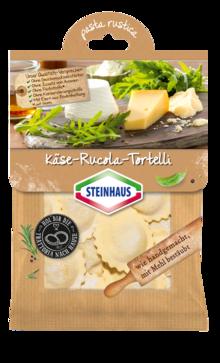 Käse-Rucola-Tortelli