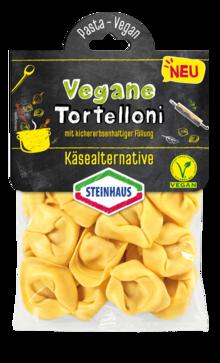 Tortelloni mit kichererbsenhaltiger Füllung