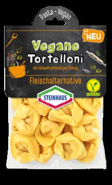 Tortelloni mit hülsenfruchthaltiger Füllung