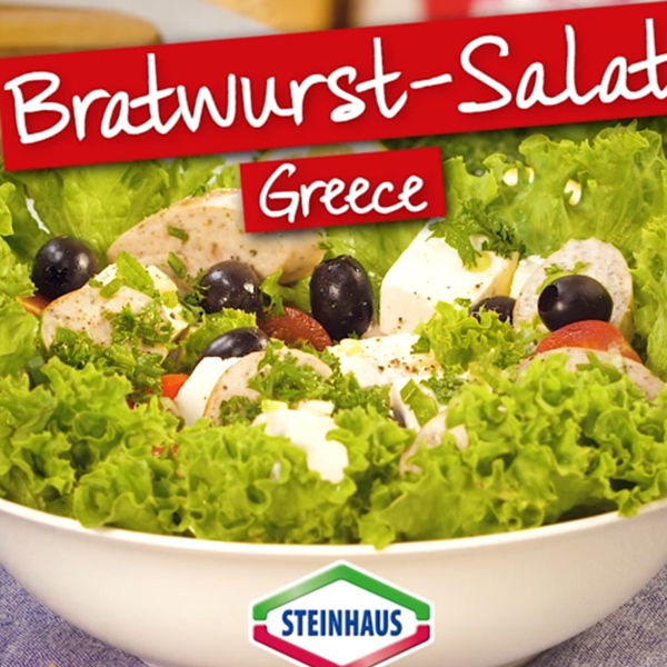 Bratwurst Salat Greece