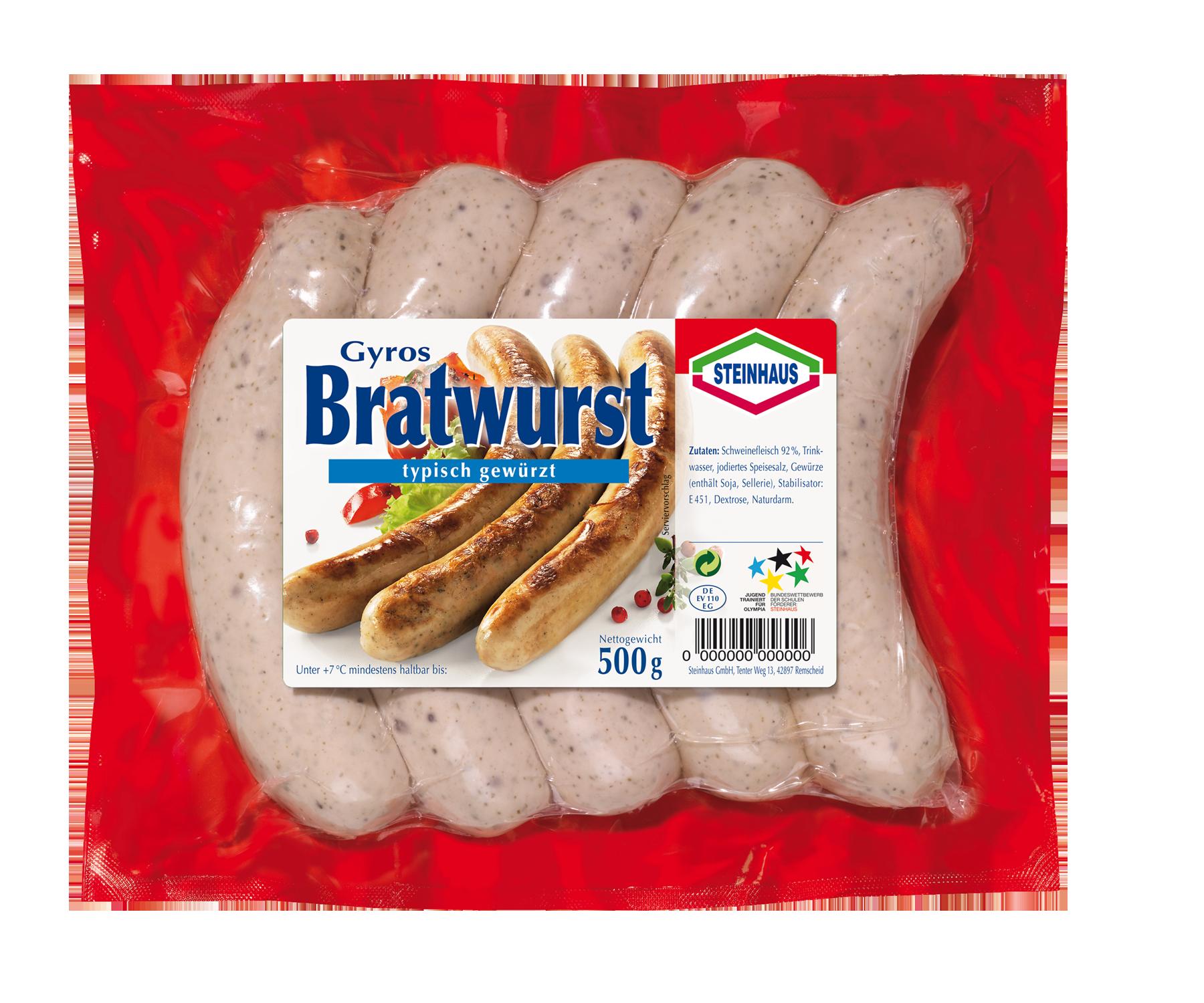 Gyros Bratwurst