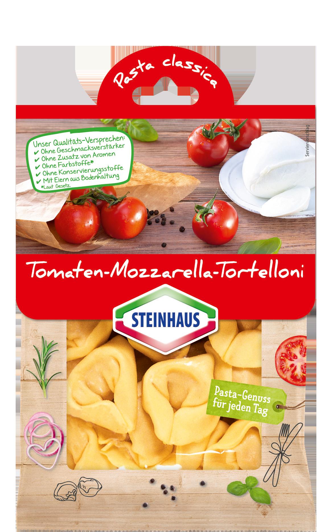 Tomaten-Mozzarella-Tortelloni
