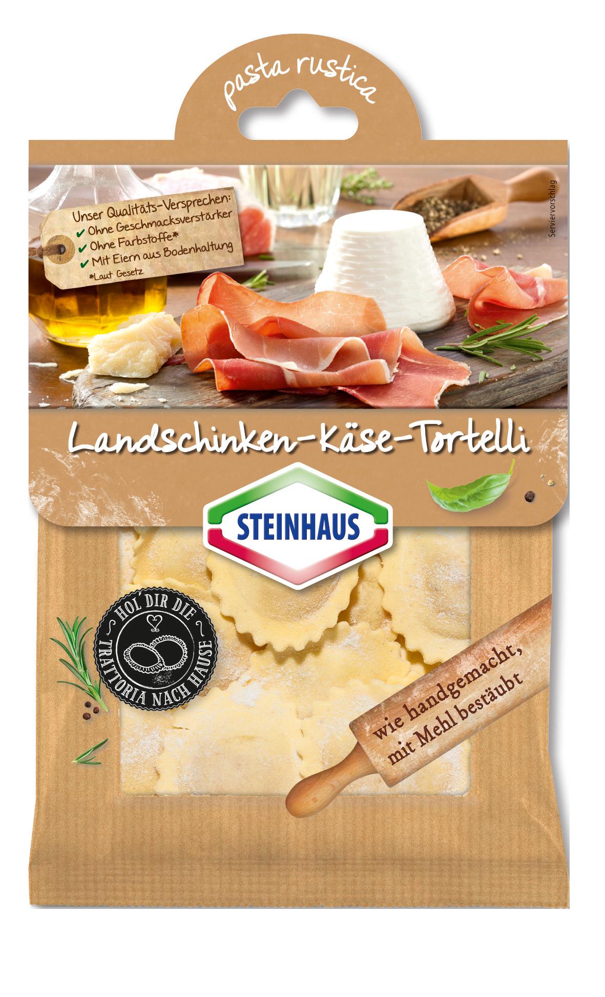 Landschinken-Käse-Tortelli