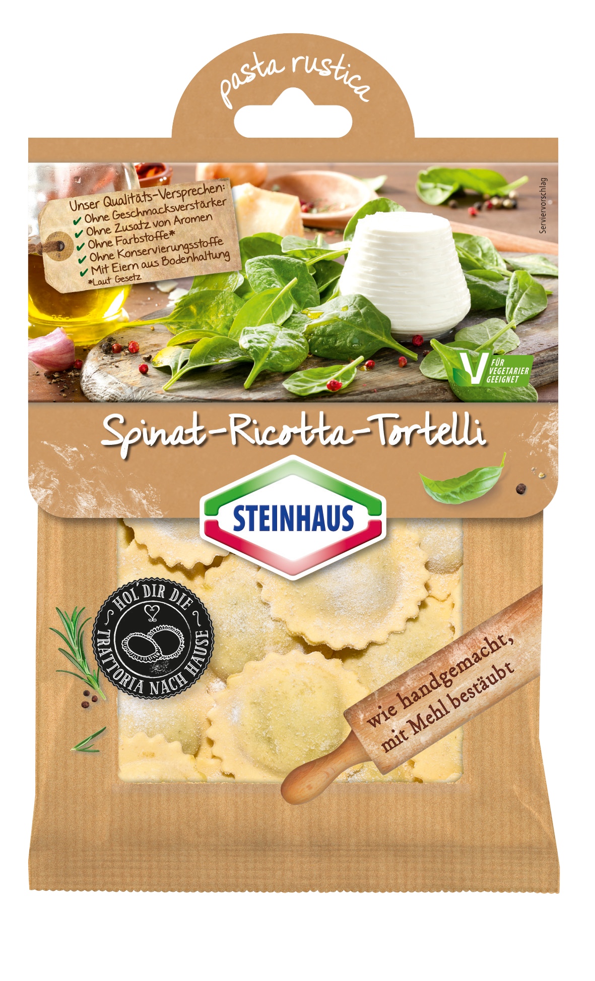 Spinat-Ricotta-Tortelli