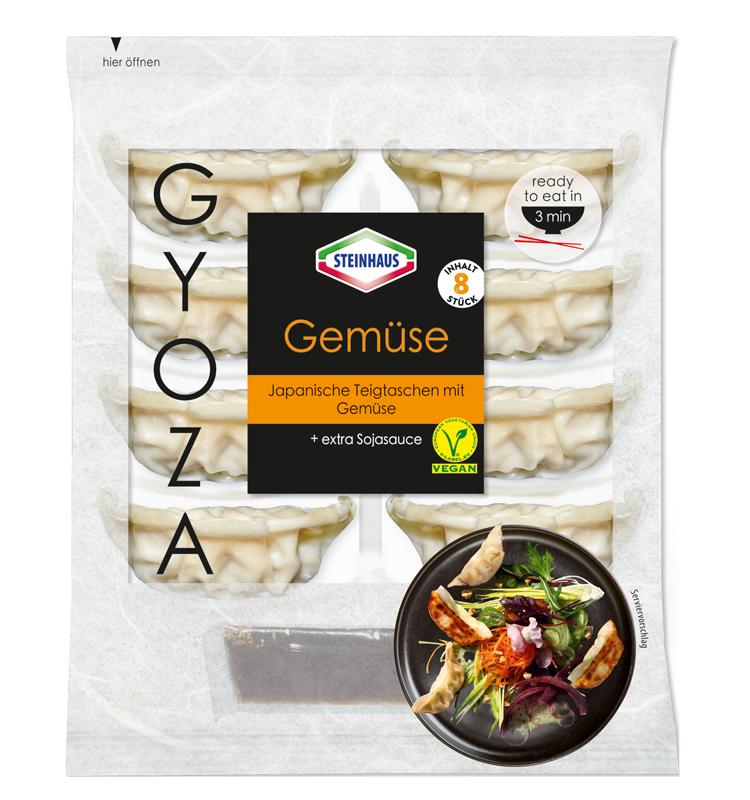 Gyoza Gemüse