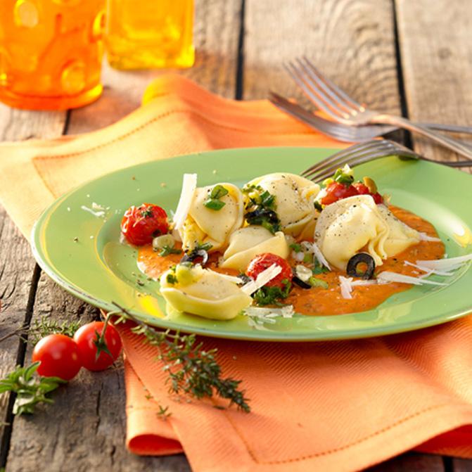 Käse-Tortelloni alla Toscana