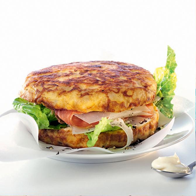 Mini-Tortilla Burger