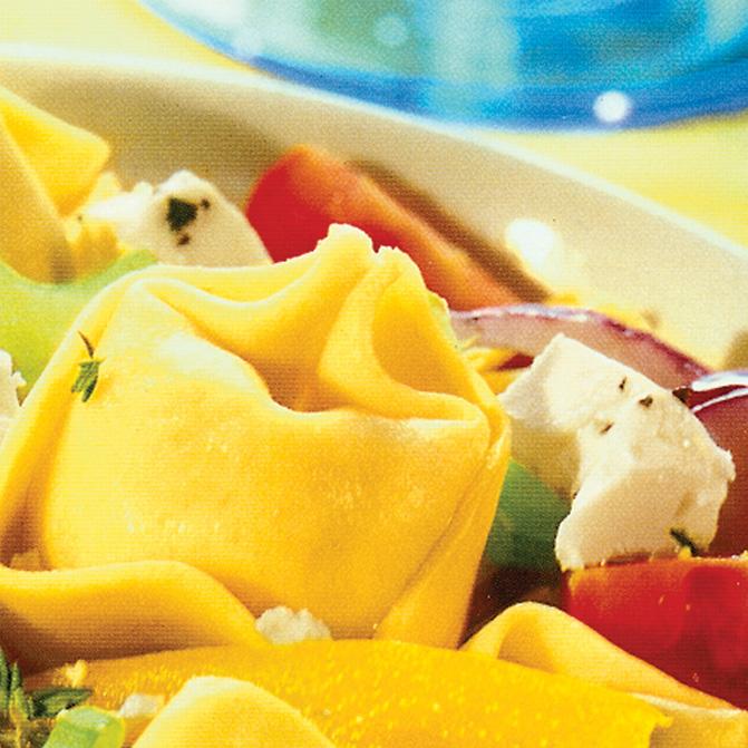 "Tortelloni-Salat ""Naxos"""