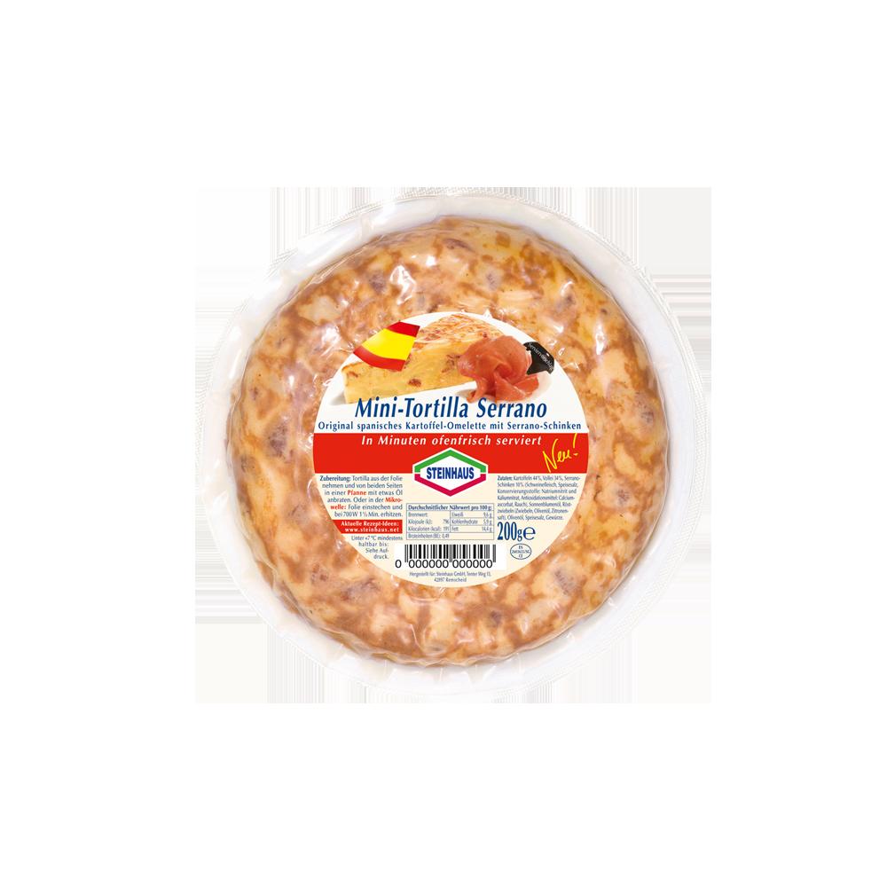 Mini Tortilla Serrano